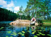 Kanoting i Dalsland