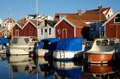 Sjöbodar på Åstol, Bohuslän