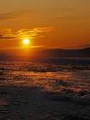 Solnedgång i Lappland