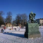 Vinter i Bältesspännarparken, Götebor