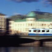 Spårvagn på Vasabron, Göteborg