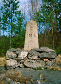 Milsten i Småland