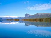 Sjön Laitauve, Lappland