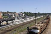 Ljusdals järnvägsstation i Hälsingland