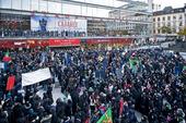 Demonstration på Sergelstorg, Stockholm