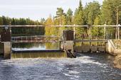 Kraftverket i Runemo, Hälsingland.