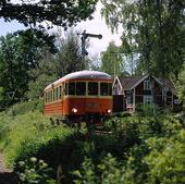 Rälsbuss vid Anten, Västergötland