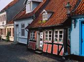 Korsvirkeshus, Danmark