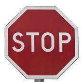 Stop skylt