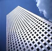 Byggnad i Tokyo, Japan