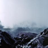 Vågor mot havskust