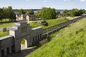 Karlsborgs fästning i Västergötland