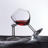 Trasigt vinglas
