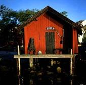 Sjöbod på Lilla Tjörnekalv, Bohuslän