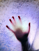 Silhuett av en hand