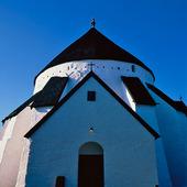 Østerlars kyrka på Bornholm, Danmark