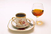 Coffee and cognac