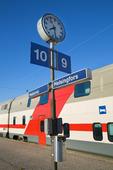 Tågstation i Helsingfors, Finland