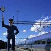 Tågstation i Linköping, Östergötland