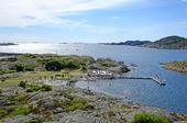 Nordhamnens badplats på Stora Dyrön, Bohuslän