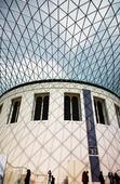 British Museum Great Court in London, United Kingdom