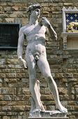 David av Michelangelo i Florens, Italien