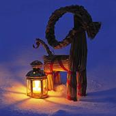Ljuslykta och julbock