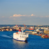 Stena Line i Göteborgs hamn