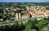 Vy över Söderköping, Östergötland