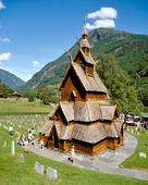 Borgunda stavkyrka, Norge