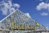 Freeport köpcetrum i Kungsbacka, Halland