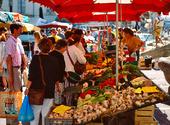Marknadsstånd, Frankrike