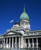 Parlamentet i Buenos Aires, Argentina
