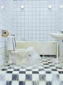 Översvämning i badrum