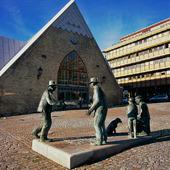 Skulptur vid Fiskekyrkan, Göteborg