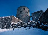 Vinter Bohus Fästning, Bohuslän