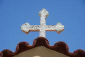 Kors på kyrka, Grekland.