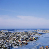 Vinter vid Tjörnekalv, Bohuslän