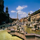 Piazza Navona i Rom, Italien