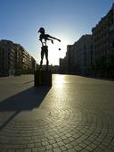 The Plaza de Dalí  i Madrid, Spanien