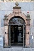 Port till Medborgarplatsens Bibliotek i Stockholm