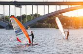 Windsurfing i Stockholm