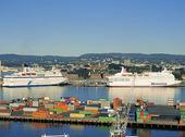 Hamnen i Oslo, Norge