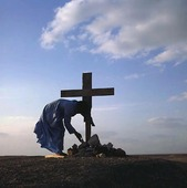 Munk vid kors, Egypten