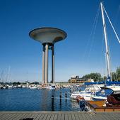 Hamnen i Landskrona, Skåne