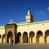 Royal Mosque i Rabat, Marocko