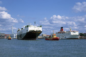 Fartyg i Göteborgs hamn