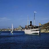 Skärgårdsbåt vid Marstrand, Bohuslän