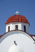 Kyrka i Pigadia på Karpathos, Grekland.