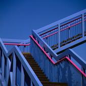 Blå trappa